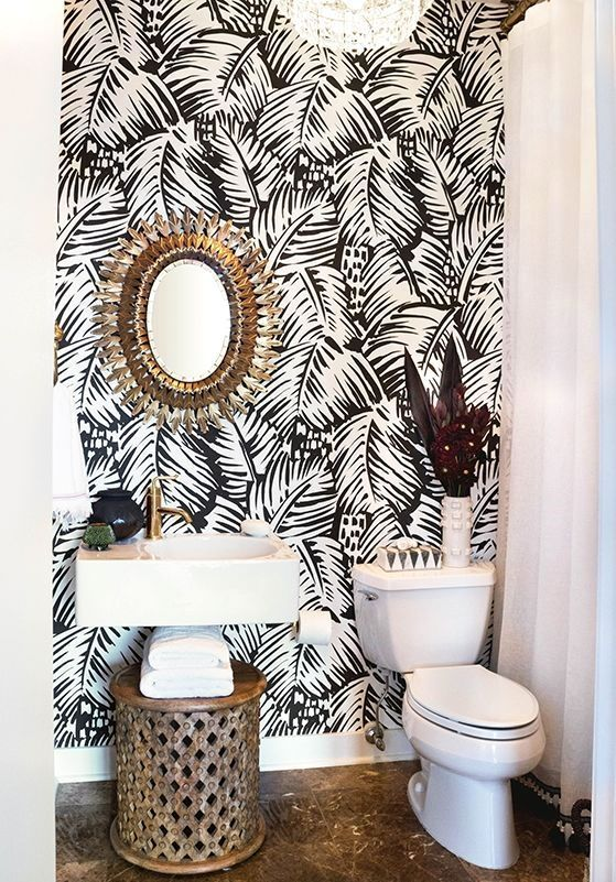 The World S Most Imaginative Wallpaper Bathroomwallpaper Room Wallpaper House Design House Interior