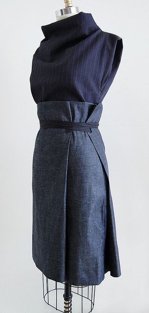 Gorgeous skirt by Martha W McQuade of UNIFORM Studio: