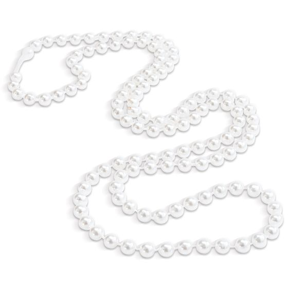 Amazon.com: Faux-Pearl Necklaces Party Accessory (8 Necklaces per Order): Clothing