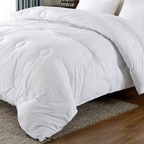 Basic Beyond Down Alternative Reversible Comforter Lightweight Duvet Insert Plush Microfiber Fill Circle Quilted