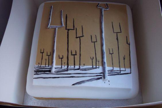 Origin of Symmetry cake!!