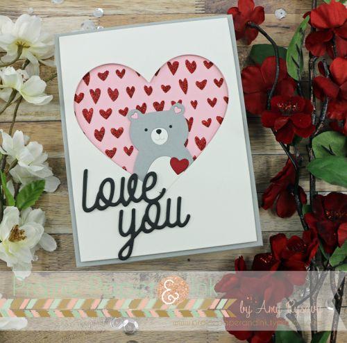 Sss Picture Book Love Bear Valentine Love Cards Valentine Day