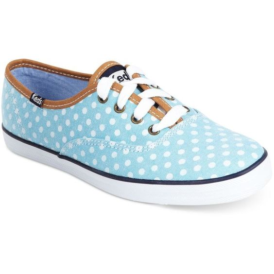 Keds Women's Shoes, Champion Dot Sneakers ($45) found on Polyvore