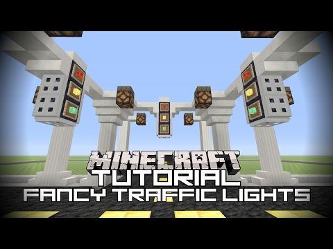 Minecraft Tutorial Fancy Traffic Lights Minecraft Xbox One Edition Youtube Minecraft Tutorial Tutorial Minecraft