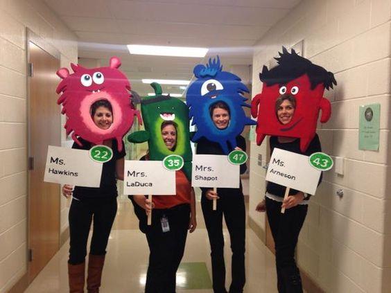 Classroom Mascot Ideas ~ Class dojo costume google search halloween