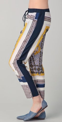 Clover Canyon Geo Scarf Foulard Pants, via shopbop. I LOVE THESE PANTS!!!!