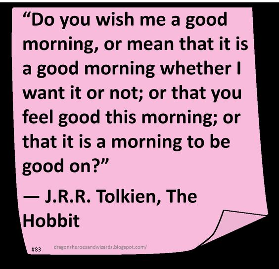 ♥ J R R Tolkien ♥ ~ #Quote #Author #Humor: