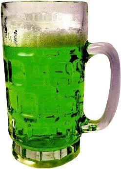 green beer drink recipe