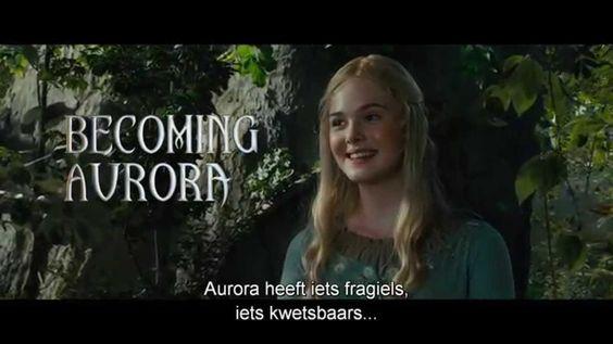 Maleficent | Featurette: Elle Fanning is Prinses Aurora | Nederlands Ond...
