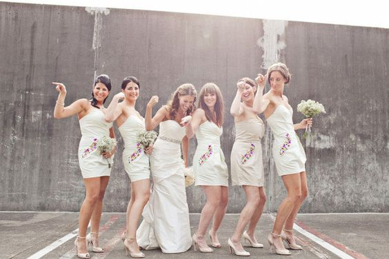bridesmaids dresses by http://www.lipsy.co.uk/ with bedazzled pockets  Photography by http://lucida-photography.com