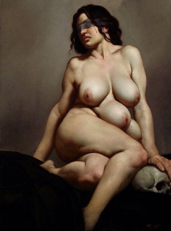 GEA olio su tela 80 x 60 cm anno 2013 - Roberto Ferri: