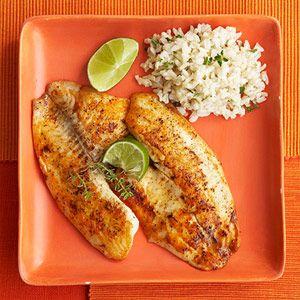 Sauteed Baja Fish