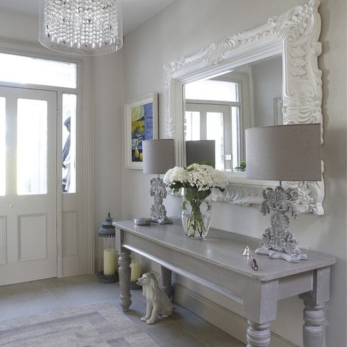 Grey Foyer Table : Pinterest the world s catalog of ideas