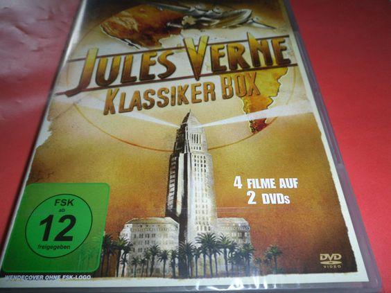 Jules Verne - Klassiker Box  ( 4 Filme auf 2 DVD`s )   OVP / NEU