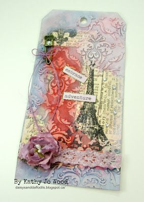 Tim Holtz' 12 Tags of May 2016 Winner!  Woo-who!!
