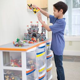 Might want to make this for the boys. . .: Diy Lego Table, Ideas For Boys Bedrooms, Kids Room, Boy Bedroom, Storage Idea, Lego Storage, Boys Room, Lego Organization, Family Fun