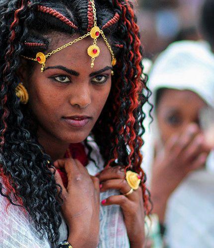 Ethiopia Jewish woman in Jerusalem