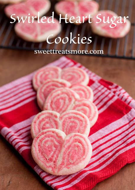 Swirled Heart Sugar Cookies