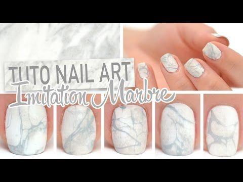 Comment faire du nail art marbré (water marble) ? Permettant de recouvrir ses ongles