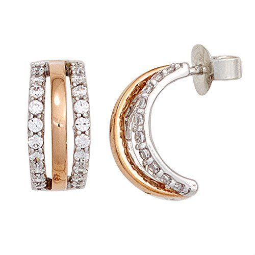 Dreambase Damen-Ohrschmuck Halbcreole 40 Diamant-Brillanten 14 Karat (585) Rotgold 0.50 ct. Dreambase http://www.amazon.de/dp/B00N5C5LVI/?m=A37R2BYHN7XPNV