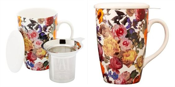 Perfect Tea Mug in Floral