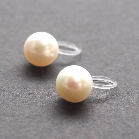 White Freshwater #Pearl Stud Invisible #Cliponearrings  Where do you want to go with these Pierced Look Pearl Earrings?