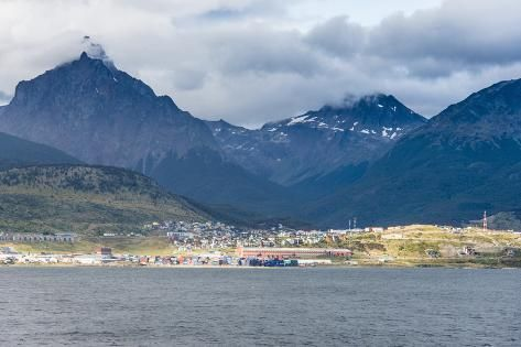 A Lovely View Of The Romanche Glacier On The Beagle Channel In