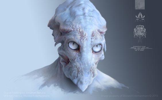 ArtStation - Starcraft II | Zealot Concept, Jonathan Berube