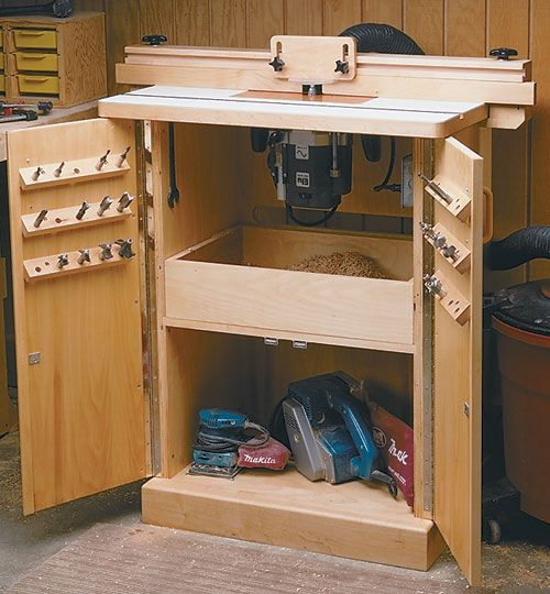 Router table plan build your own router table projects for Build your own router table free plans