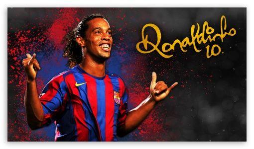 Ronaldinho Barcelona Hd Wallpaper For 4k Uhd Widescreen Desktop Smartphone Ronaldinho Wallpapers Liverpool Premier League Barcelona
