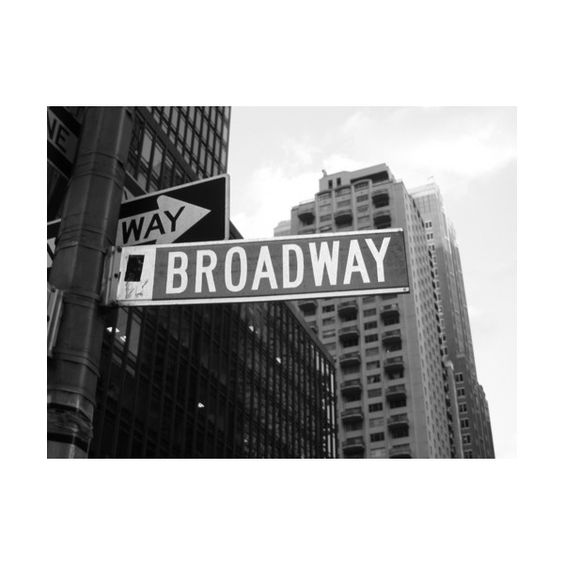 New York the Beautiful life Spettacoli di Broadway ❤ liked on Polyvore