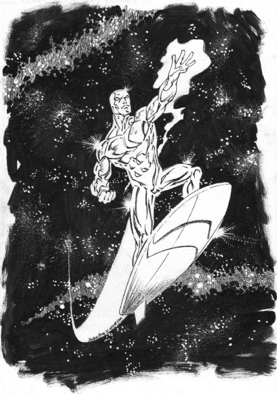 Silver Surfer by Ron Lim