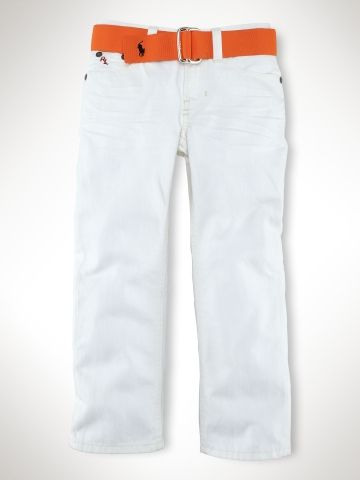 nbd. just some sharp lookin white pants for little guys.