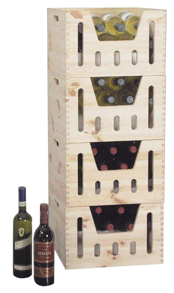 caisse bouteilles bois 12 bouteilles