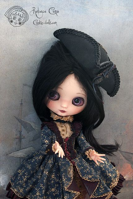 Laurélie by Rebeca Cano ~ Cookie dolls, cookie-dolls.com