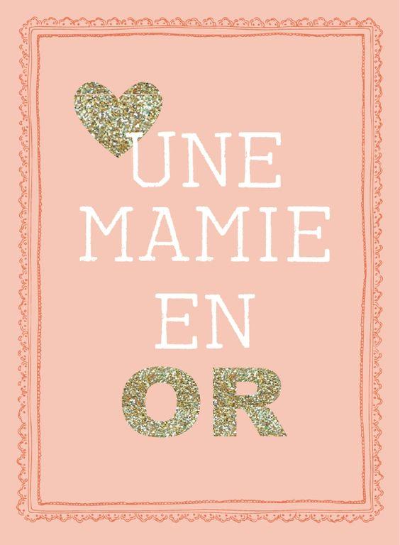 La fête des grand-mères (cartes à télécharger gratuitement)