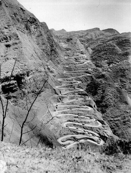winding roads-China