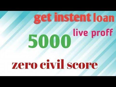 Instent Persanol Loan App Zero Civil In 2020 Credit Score Loan Personal Loans