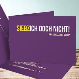Siebzich - Sechzich