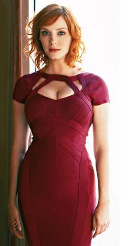 The Curves of Christina Hendricks: When asked to consider 'busty' and 'beautiful', naturellement our thoughts turn to the 'sexiest woman in the world' (Esquire magazine), red headed bombshell Christina Hendricks... READ MORE