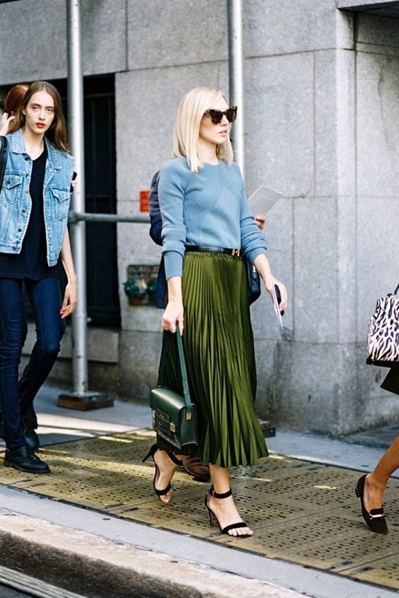 The Personality Skirt Dominating Street Style | WhoWhatWear AU:
