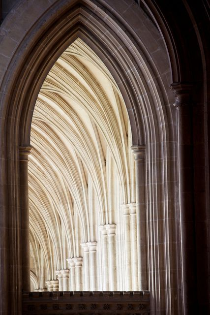 #Canterbury #Cathedral - Mother Church of the worldwide Anglican Communion and seat of the Archbishop of Canterbury - dates from 12th century #gothic arch