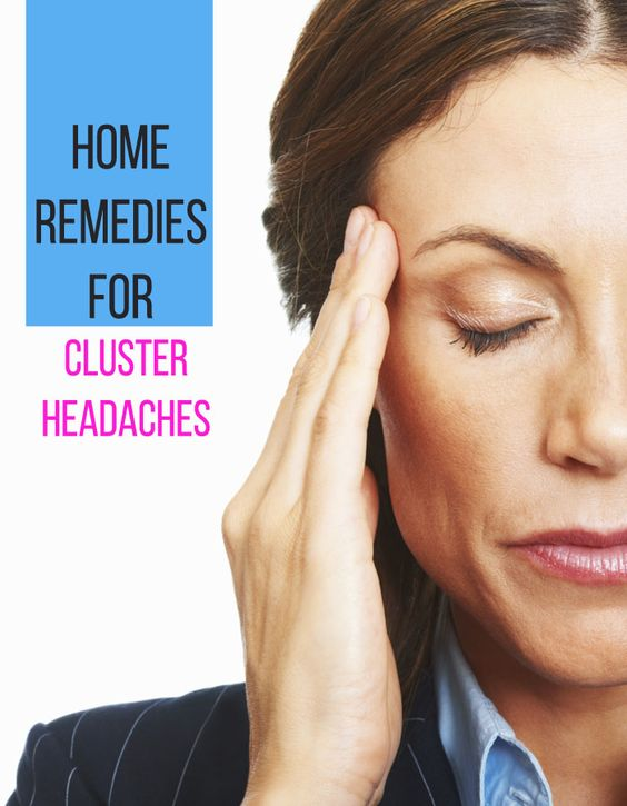 cluster headaches home remedies and remedies on pinterest. Black Bedroom Furniture Sets. Home Design Ideas