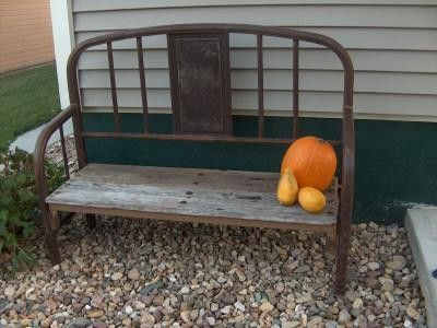 Log Bed Frame Repurpose