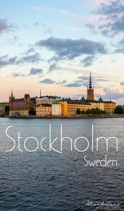 I fell in love with just about every European city I visited, and Stockholm was no exception. Check out these photos to see why! | The Mochilera Diaries