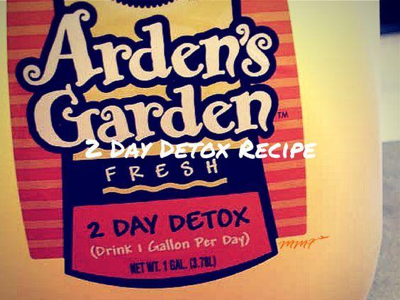Arden S Garden 2 Day Detox Recipe My Mommy Flies Detox Juice Detox Recipes Detox Drinks