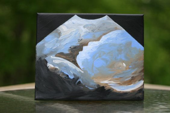 Custom Ultrasound Painting 8x10  SOLD by LindenTreeArtistry