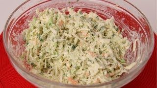 Coleslaw Recipe - Laura in the Kitchen - Internet Cooking Show Starring Laura Vitale