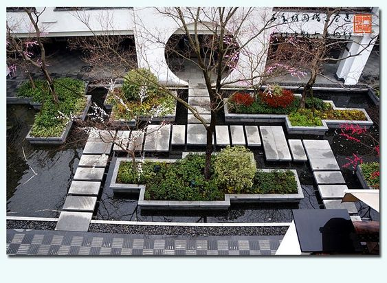 The modern Chinese landscape design traditional \/ cultural - chinese garden design