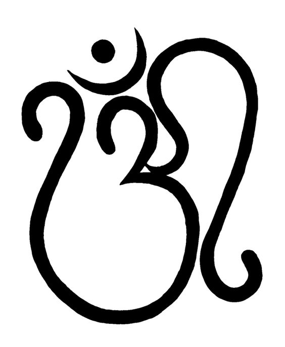 Hindu Hand Symbol Wallpaper